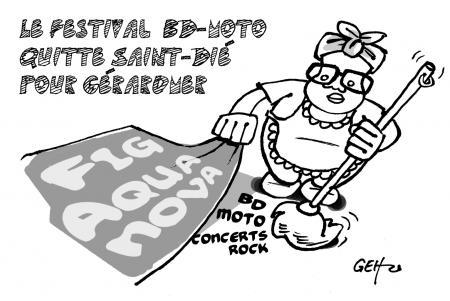 Echo des Vosges du 06/04/12 (Tous droits réservés)