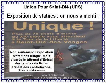 Echo des Vosges du 25 février et du 11 mars