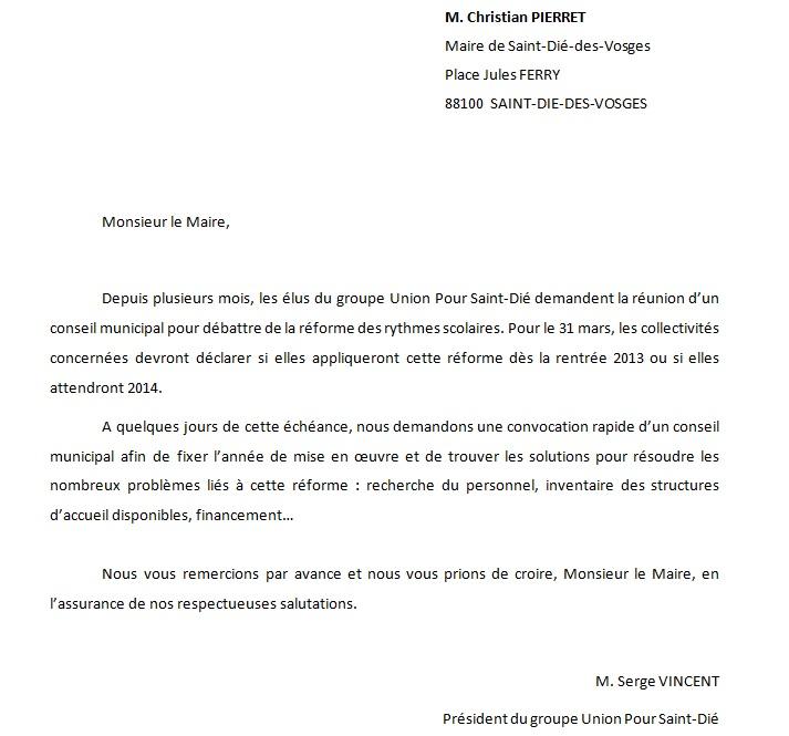 lettre de derogation scolaire maternelle