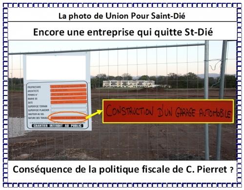 Entreprise qui quitte St-Dié Octobre 2011.jpg